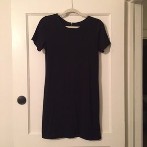 Mossimo Black T-Shirt Dress